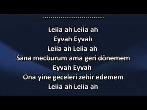 Reynmen Leila Karaoke Sozleri Youtube