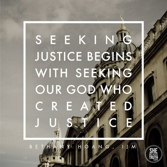 what is justice... Please join me and many others in discovering what justice means and looks like through the grace of God!: