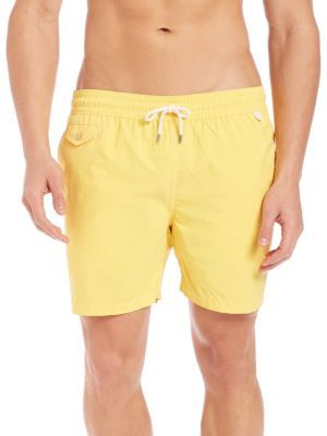 POLO RALPH LAUREN Traveler Swim Short. #poloralphlauren #cloth #short