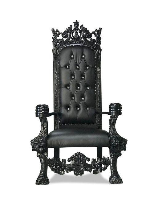 Black Throne Chair King Chair Throne Chair King Throne Chair