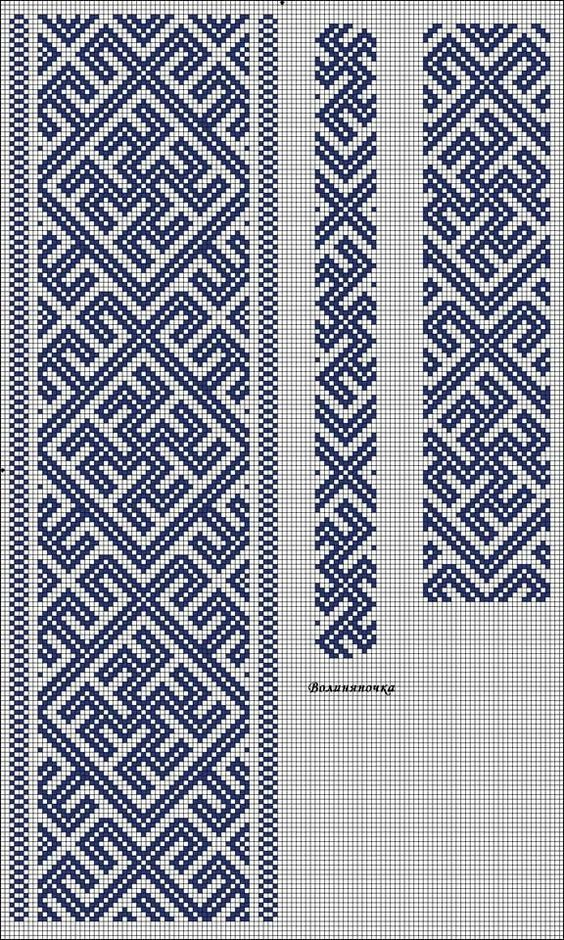 12 Mesmerizing Redwork Embroidery Ideas Cross Stitch Geometric Bead Loom Patterns Celtic Cross Stitch