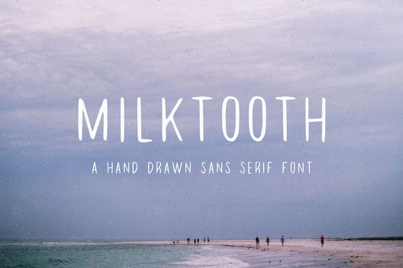 Milktooth by Jackrabbit Creative on @creativemarket