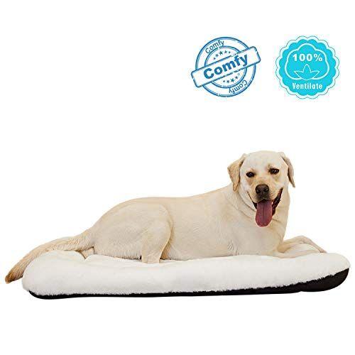 Anwa Dog Crate Bed Large Washable Crate Pad Dog Cushion Big Dog 36 Inch Pet Cushions Comfiest Dog Bed Big Dog Crates