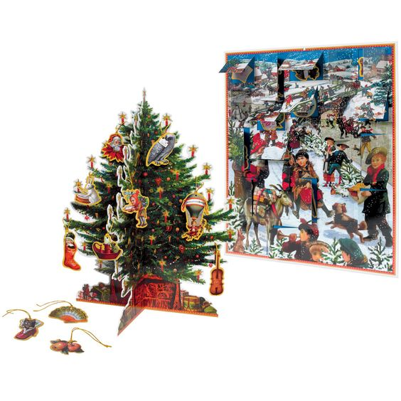 Victorian Christmas Advent Calendar - Advent Calendars - Holiday - The Met Store