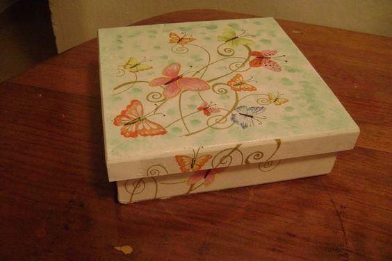 caja   de   mariposas