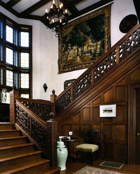 Home Design Ideas For Condos: Tudor Staircases