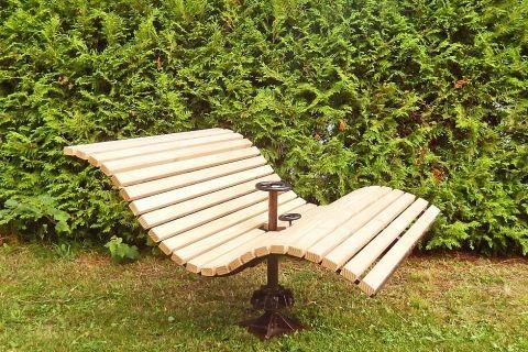 Himmelsbank Baschnagel Metall In Design Schwedische Mobel Garten Gartentipps