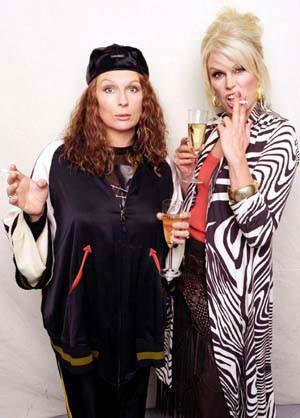 role models....Darling!  love them!! Patsy and Edina!