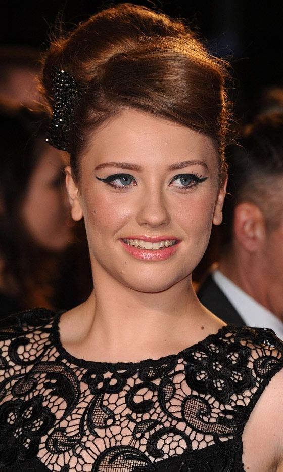 X Factor Contestant Ella Henderson At The London Film Premiere Of Skyfall, 2012