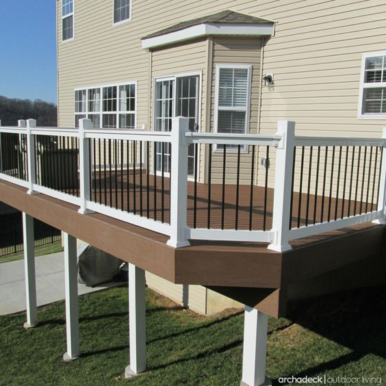 Raised Decking Ideas: Polish-off Your Raised Deck With A Cover, Sleeve Or Wrap