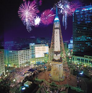 Downtown Indianapolis - Holidays