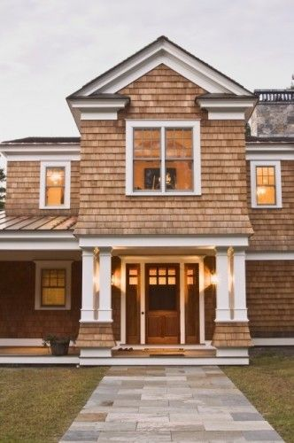 I love shaker style shingles as siding on homes dream for Shaker style house