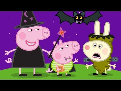 Peppa Pig English Episodes Trick Or Treat Happy Halloween