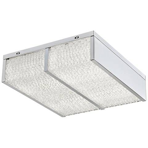 Varaluz Twisted Sistah 12 Wide Chrome Led Ceiling Light 31h65 Lamps Plus Led Flush Mount Flush Mount Ceiling Ceiling Lights