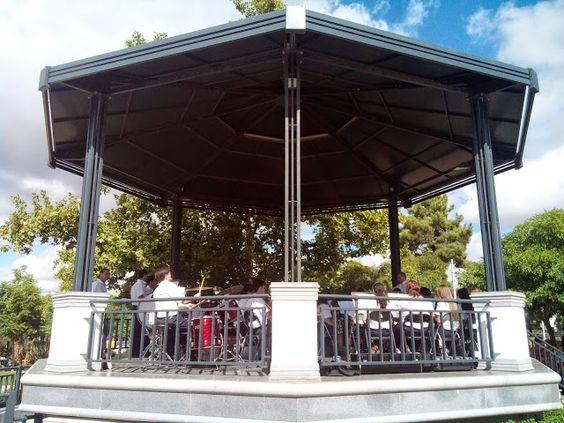 Campomaiornews: Rota dos Coretos - Banda 1º Dezembro actuou no Jar...