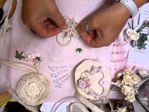 Shabby Chic Heart Decoration - jennings644