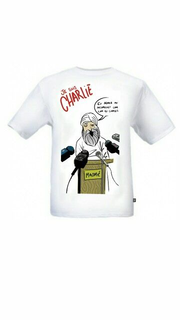 """Camiseta sobre """"Liberdade de Expressão""""! Linda!!!"""