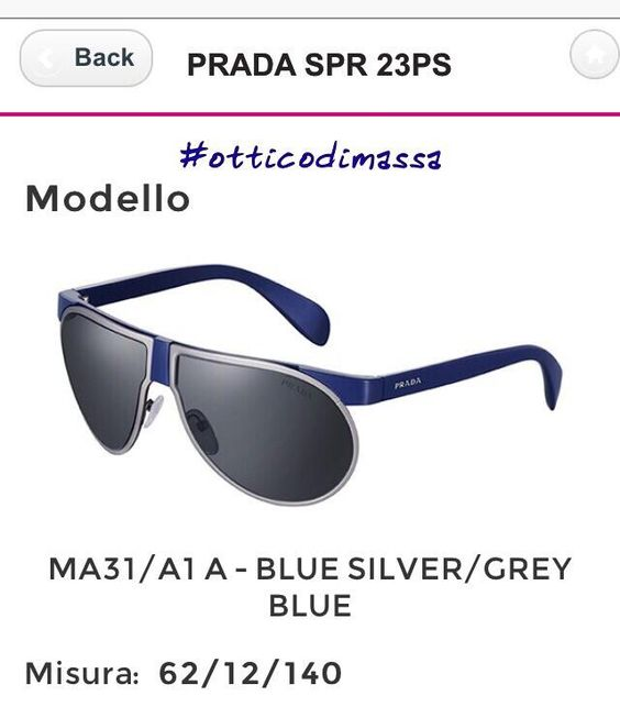 #otticodimassa #pradasunglasses #pradaeyewear #sunglasses #eyewear #occhialidasole #occhialidavista #tendencias #moda