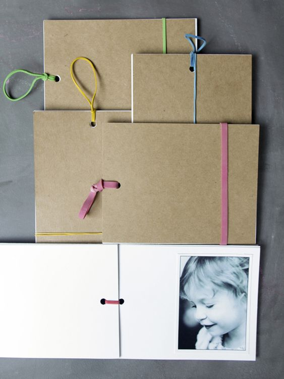 DIY Book tutorial: Mother, Rubberband, Diy Book, Brag Book, Bragbook, Rubber Band, Photo Book