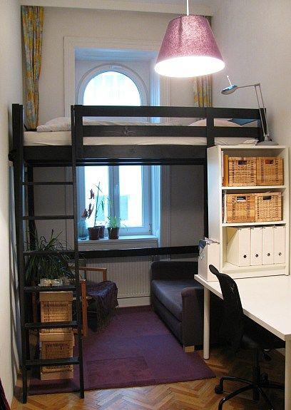stora hochbett schwarz hochbett pinterest ich liebe. Black Bedroom Furniture Sets. Home Design Ideas