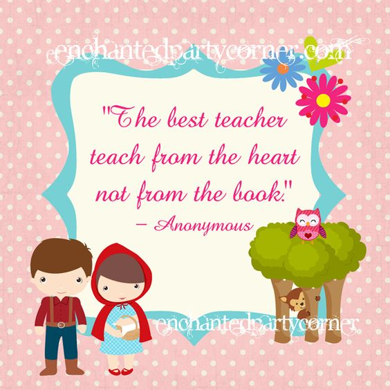 Beautiful Quotes For Teachers Day Cards: Happy Teachers Day Quotes