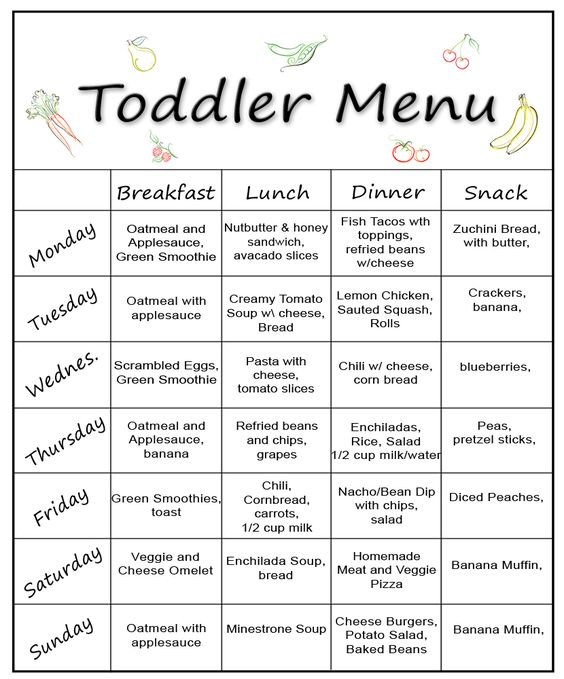 A Perfect Way To Mix Up Your ToddlerS Daily Menu With A Variety