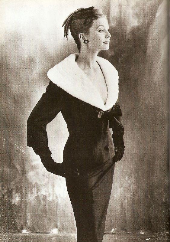 Suzy Parker in Balenciaga, 1953