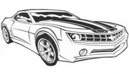 bumblebee car coloring pages - photo#25
