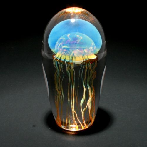 Moon Jellyfish � Fusion Art Glass Online Store