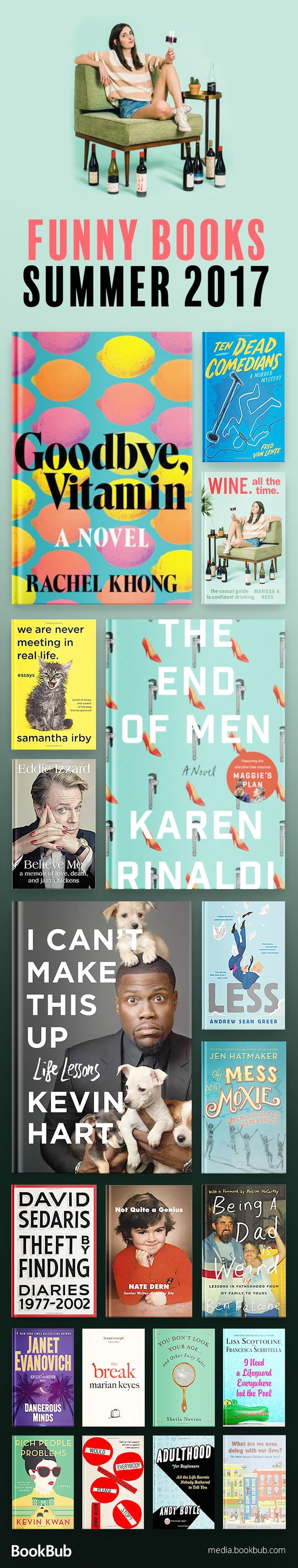 19 funny books to read that are sure to make you laugh. These funny books for women and for adults are great if you're looking for some humor!