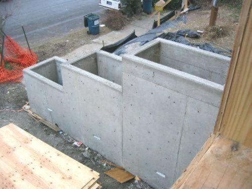Boxes Boxesretaining Concrete Idea Ideas Planter Wall Concrete Planter Boxes Ideas Concrete P Concrete Planter Boxes Concrete Garden Concrete Planters