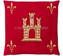 Castle - Red (Chenille)