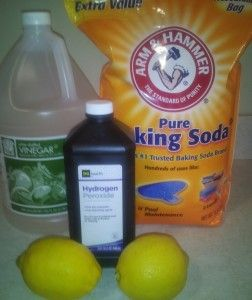 how to make citric acid cleaning solution