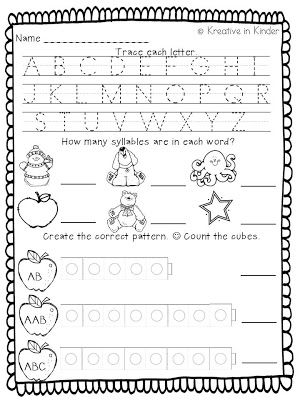 Worksheets Kindergarten Morning Worksheets love this morning work from crystal at kreative in kinder go by my blog today and grab these two freebie worksheets to use for i hope you are having a great week can