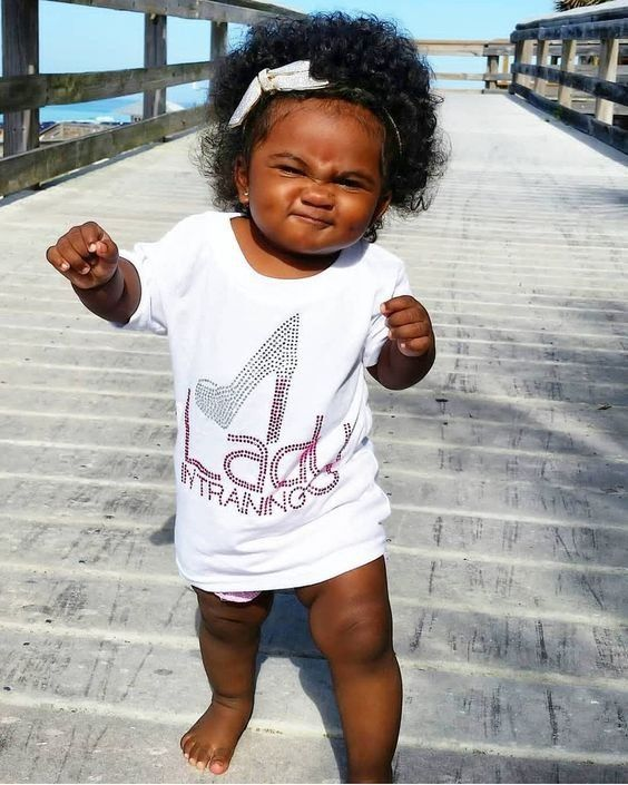 Funny Black Baby : funny, black, Funny, Charming, Photo, Beautiful, Black, Babies,, Hairstyles,, Babies