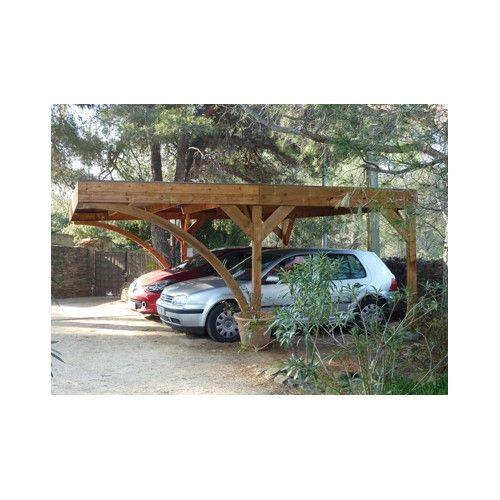 ABRI VOITURE BOIS AUTOCLAVE  604 X 512 M Garage Pinterest - monter un garage en bois