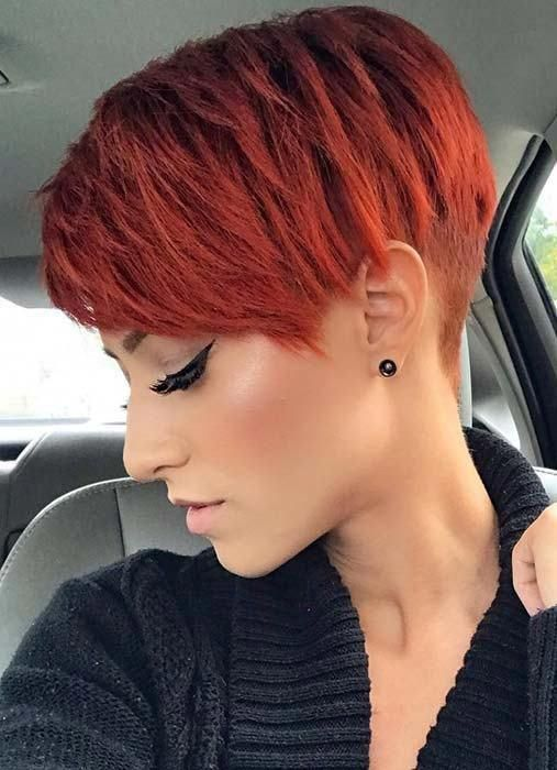 20 Awesome Short Red Hair Ideas We Love For 2019 Style2 T Shorthaircolorpixie Short Red Hair Short Hair Styles Red Pixie Haircut