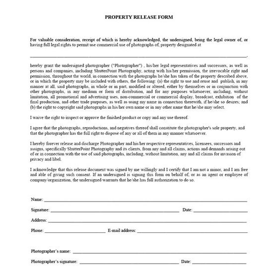 Are digital photography contracts legal? Fotografía - employee release form