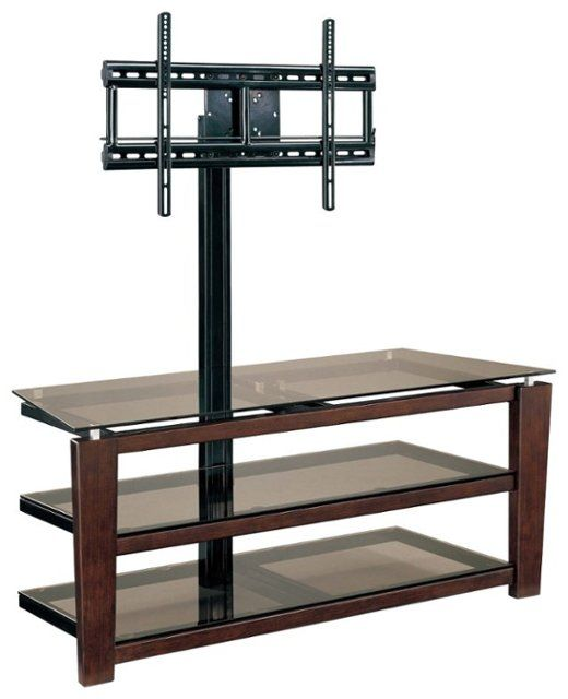 Whalen Furniture 3 In 1 Tv Console For Most Flat Panel Tvs Up To 58 Brown Xl 5 Best Buy Whalen Furniture Flat Screen Tv Stand Flat Panel Tv