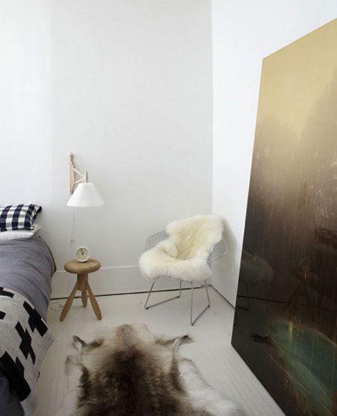 Beautiful minimalist home - John & Juli's house via Design Sponge
