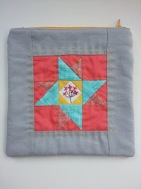 little zippy pouch by Ellison Lane Quilts, via Flickr