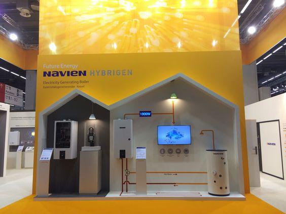 Navien Booth at the #ISH2015 in Frankfurt