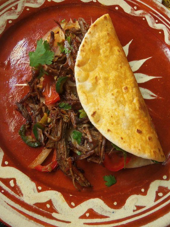 La Machaca, Platillo de carne secada, México