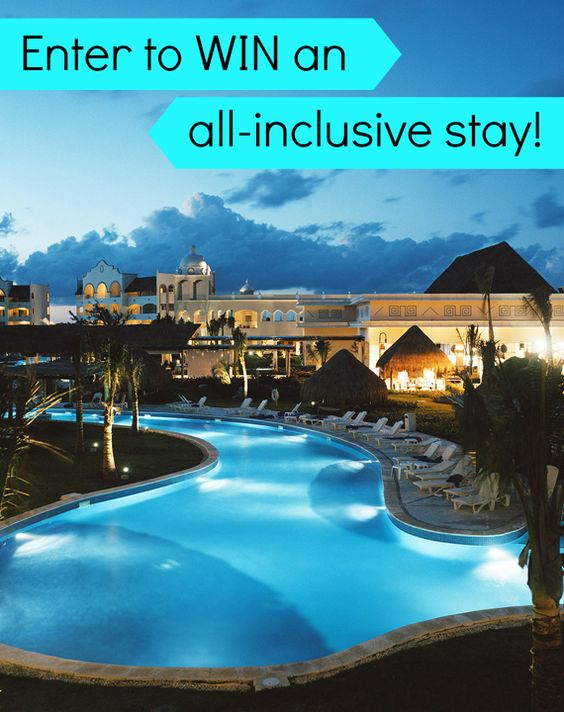 Enter to WIN an all-inclusive resort stay at Excellence Riviera Cancun. CLICK TO ENTER!