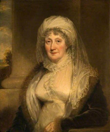 Elizabeth Sparrow of Bishton Hall, William Owen, ca. 1815; SCBPC PCF 5