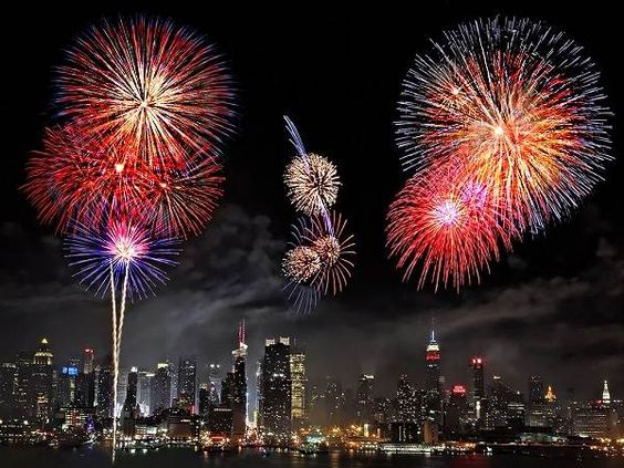 Best 4th of July NYC 2016 Fireworks Images