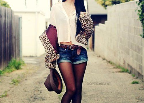 tumblr girls with fashion leopard print girl swag