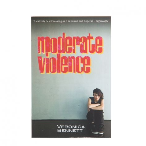A work of fiction based on real-life stories, Moderate Violence is sensitively and thoughtfully written, perfectly describing how someone could quickly descend into the darkness of self-harm. A recommended read for young people or parents who want to try and put into words the life events that are sometimes just too hard to describe.