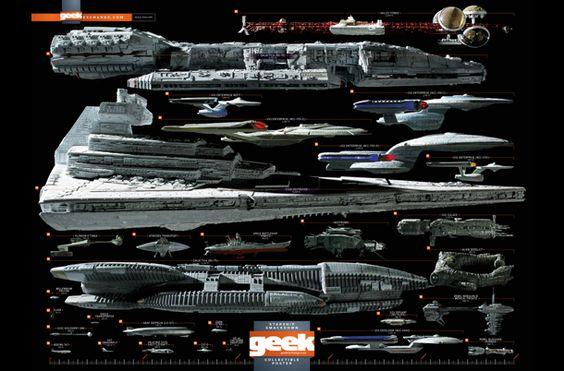 Starship Smackdown by Geek Magazine