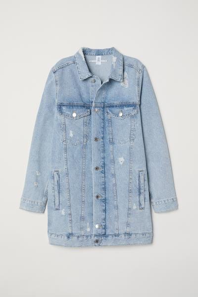 Trashed denim jacket   Etsy
